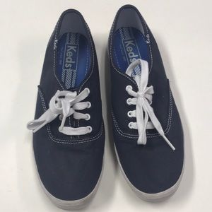 Navy Blue Women's Keds